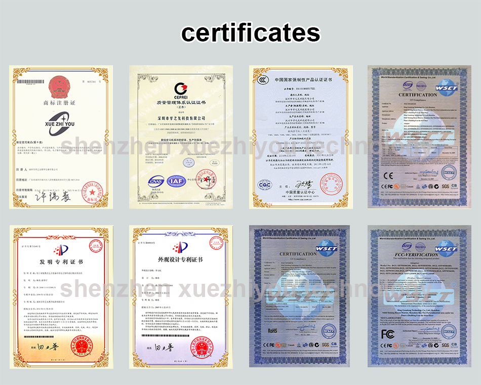 audio pen certificate