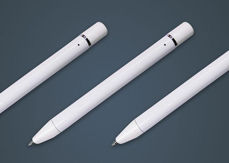 digital writing pen and notebook